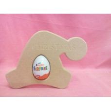 18mm MDF Santa Hat Egg Holder
